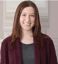 Human Resource Management student Marisa Vipond